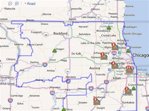 app online map help comed customers track outages lisle