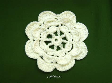 Flower Handmade - crochet flower tutorial craft ideas