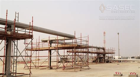 Pipe Sleeper Design by Crude Delivery System Sasec