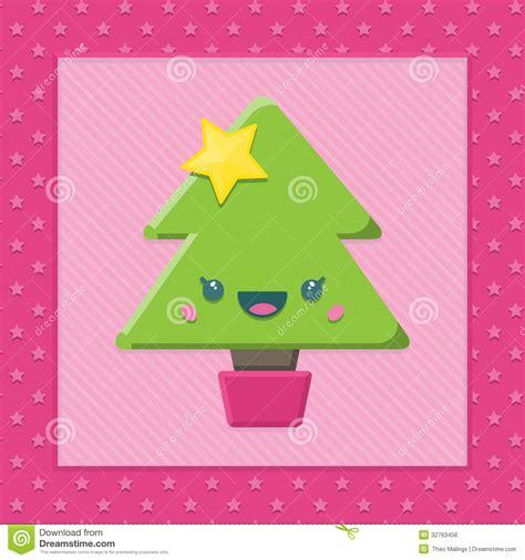 imagenes de arboles de navidad kawaii 193 rbol de navidad de kawaii de la historieta imagen de