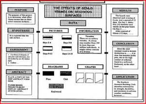 science fair project board template project