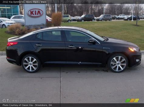 Black On Black Kia Optima 2012 Kia Optima Sx In Black Photo No 57417512