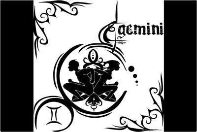 Gemini Top 1 top 10 des dessins de tatouage gemini