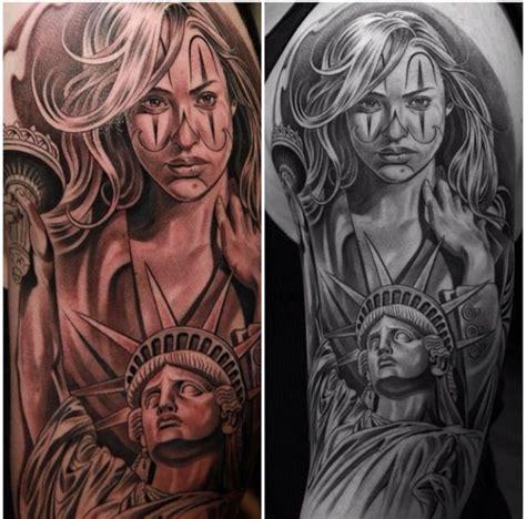 clown face tattoo clown and liberty stuff