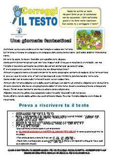 scrivere un testo scuola primaria schede didattiche maestro fabio per la scuola primaria
