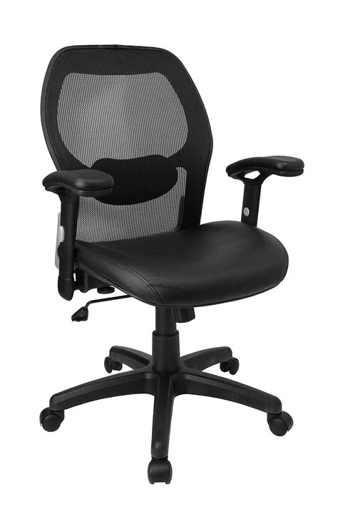 mid back desk chair mid back desk chair with leather seat in office chairs