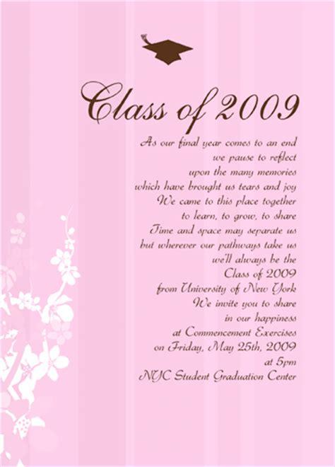 wording for graduation dinner invitation wedding invitation sle