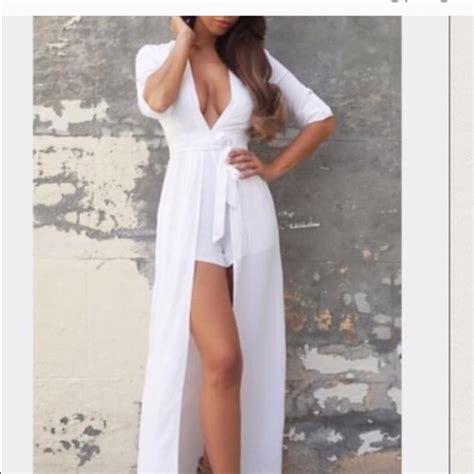 42 sabo skirt dresses skirts white plunge