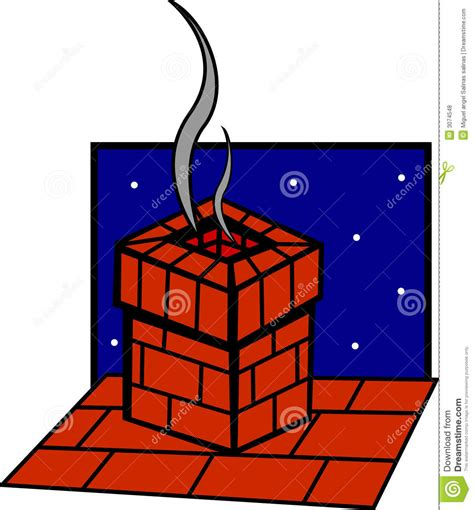 house drawing stock images royalty free images vectors chimney in the roof of a house vector illustration royalty