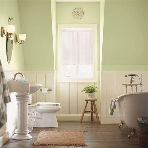behr wainscoting and neutral color scheme on