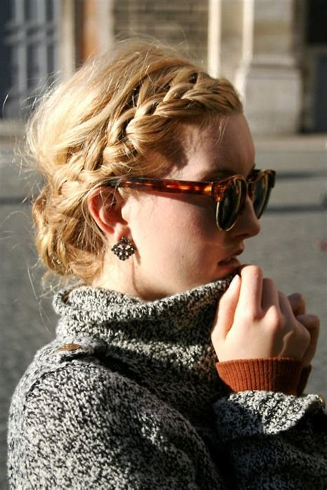 how to do a messy side braid side braid messy bun hairstyles pinterest