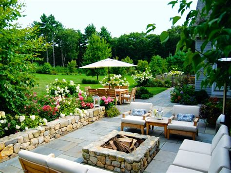 backyard terrace outdoor fire pits and fire pit safety hgtv