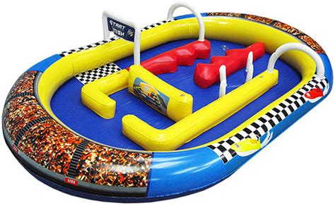 rc speed boat challenge puts a new spin on slot car racing - Toy Boat Challenge