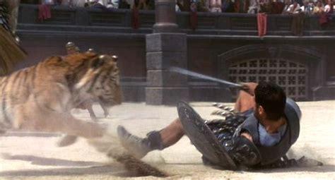 gladiator film lion recap gladiator the exploder action movie recaps