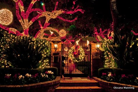 christmas lights in river oaks houston princess decor