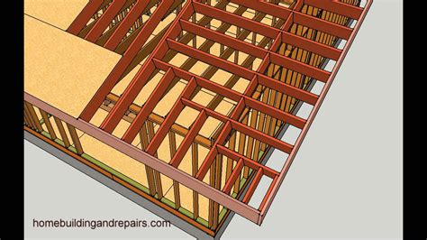 Garage Roofs by How To Make Gable Roof Overhang Longer Engineering And