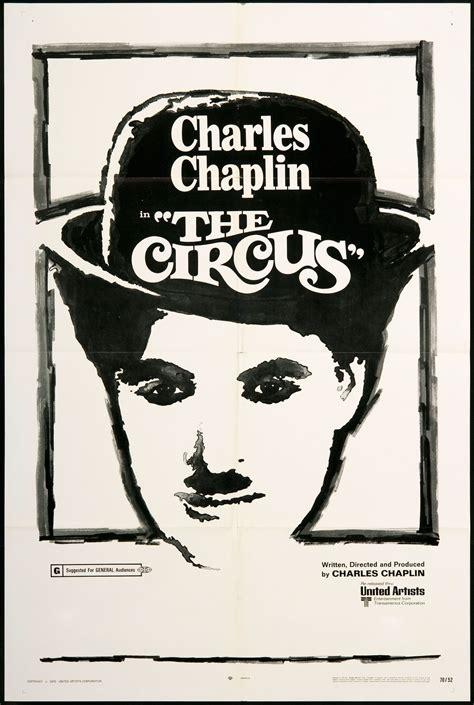 charlie chaplin  circus vintage  poster pics
