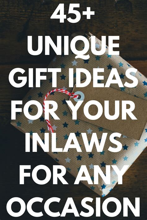 gift ideas for the inlaws discover the best gifts ideas and presents for your