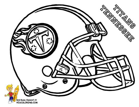 tennessee titans coloring pages coloring home