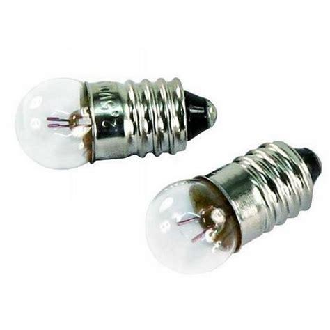 Glühbirnen Sockel by 2 St 252 Ck Gl 252 Hbirne Kugelle Sockel E10 2 5v 0 3a Taschenle Ebay