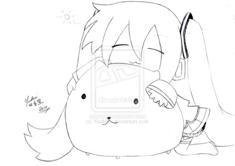 imagenes de hatsune miku kawaii para colorear dibujos de miku hatsune para colorear imagui