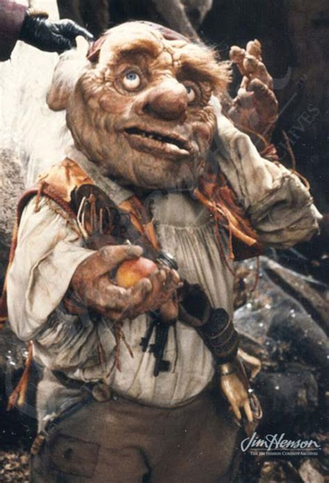 labyrinth film goblin from jim henson s red book hoggle sarah s hostile guide