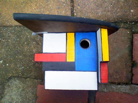 arkwood mondrian bird boxes
