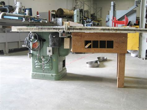 rockwell woodworking used rockwell 1 5hp table saw coast machinery