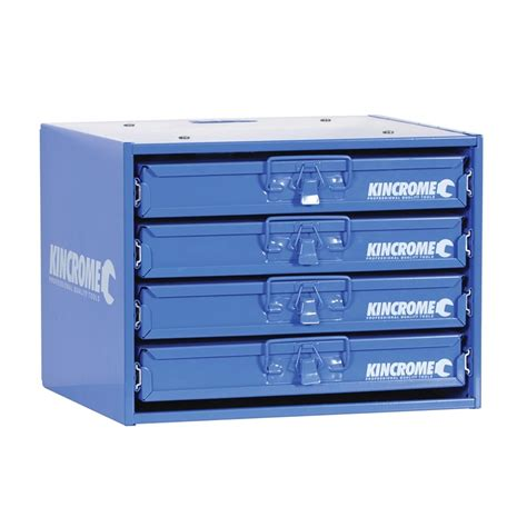 Metal Storage Drawers by Kincrome 4 Drawer Steel Storage Module Bunnings Warehouse