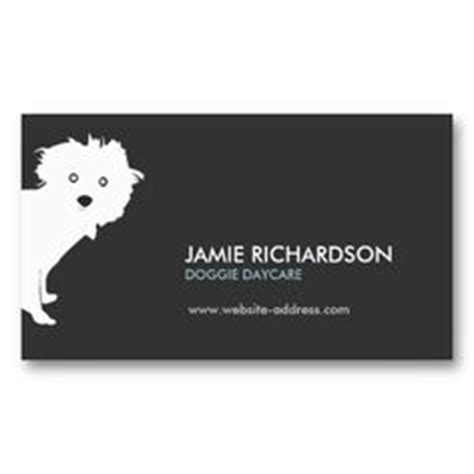 Walking Business Card Template by For Groomers Veterinarians On Business