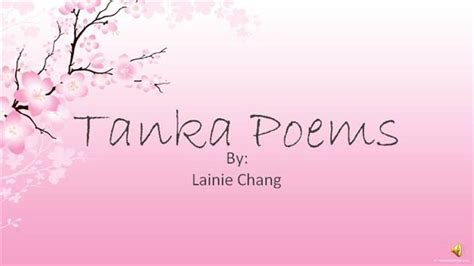 tanka poem template tanka poetry powerpoint 2 sound authorstream