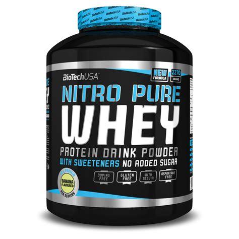Nitro Whey Nitro Whey 5lbs 2268g Protein Biotech Usa