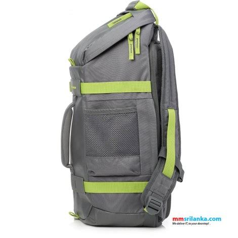 hp 15 6 inch odyssey backpack gray