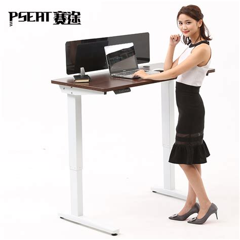 electric sit stand desk legs ergonomic electric height adjustable table leg sit stand