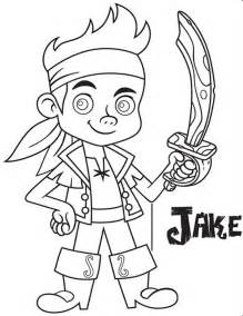 printable jake neverland pirates coloring pages coloring tone