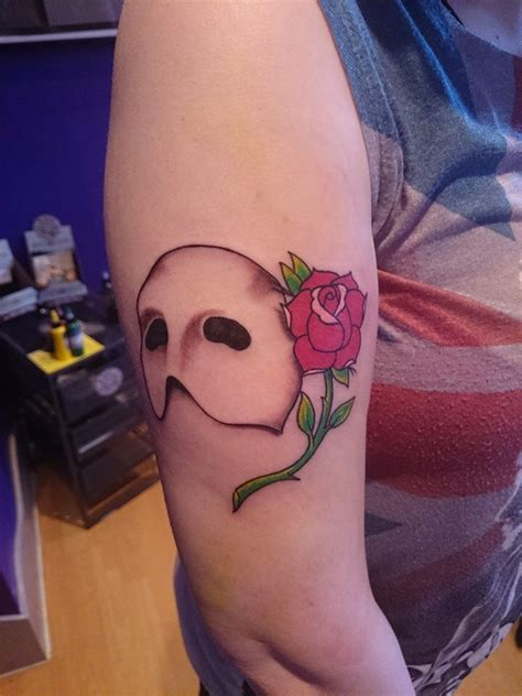 painless tattoo phantom of the opera done by the brilliant artists