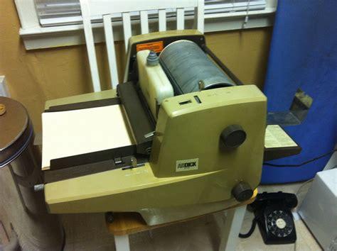 Mesin Fotokopi Gestetner mesin kantor ira setiana