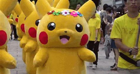 Pikachu Mascot 5 pikachu mascot