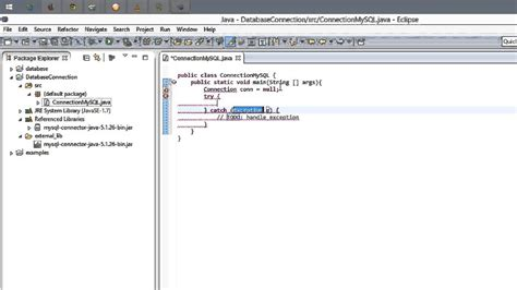 tutorial java mysql eclipse how to connect java and mysql in eclipse on windows 8 1