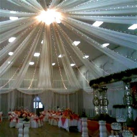 tenture mariage en tulle blanc d 233 coration de salle mariage