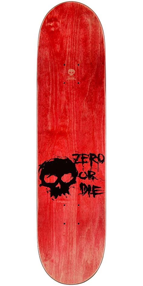 ccs skateboard decks zero blood skull sl skateboard deck 8 0 quot