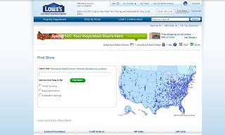 find lowe s home improvement locations using store locator