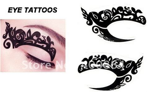 New Eyeliner Tempel Eyeliner Sticker Sticker Eyeliner Eyeliner 100pcs 2015 new type eye stickers temporary eye
