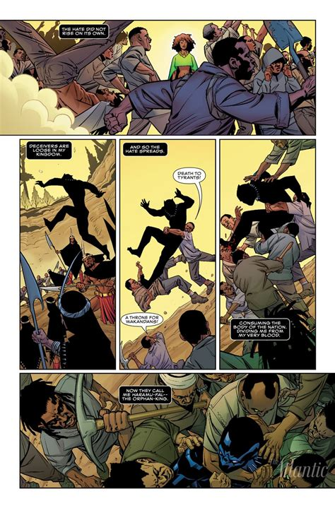 marvel s black panther the illustrated history of a king the complete comics chronology preview panels for black panther s comic miniseries coming