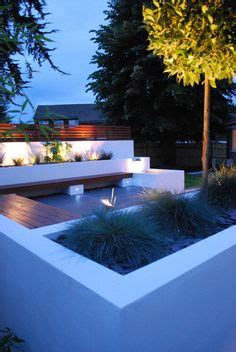planters with bench seating bench seating planters lighting