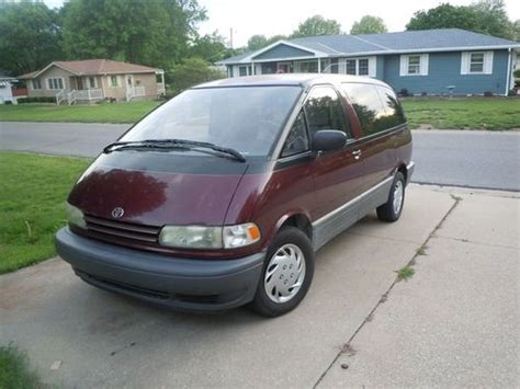 repair anti lock braking 1995 toyota previa user handbook find used toyota previa le awd 1994 190k 1owner no reserve 4 wheel drive in san diego
