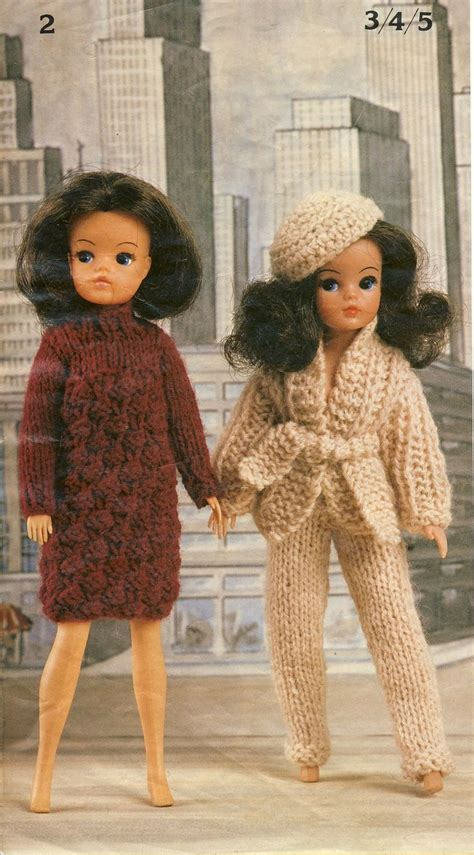 free sindy doll knitting patterns robin bears belles knitting booklet two for