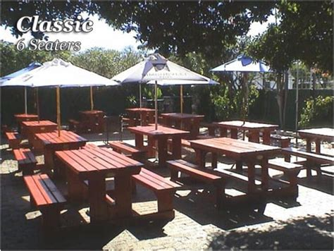 wooden pub benches octo benches quality indoor outdoor entertainment garden pub picnic wooden