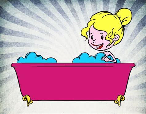 fare in bagno disegno per fare il bagno colorato da utente non