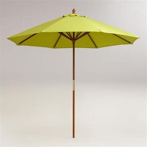 World Market Patio Umbrella 9 Apple Green Umbrella Canopy World Market